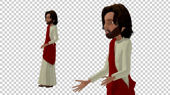 Thumbnail for Cartoon Jesus