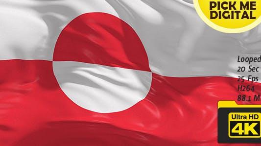 Thumbnail for Denmark-Greenland Flag 4K