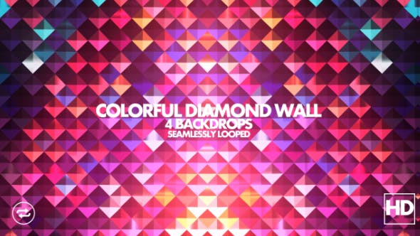 Thumbnail for Colorful Diamond Wall