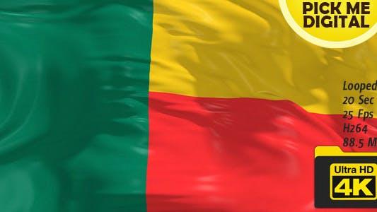 Cover Image for Benin Flag 4K