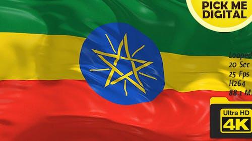 Ethiopia Flag 4K