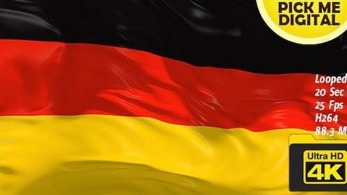 Germany Flag 4K