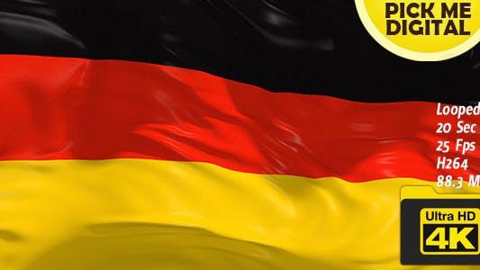 Cover Image for Germany Flag 4K