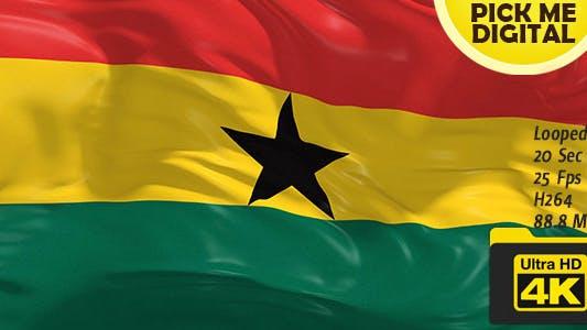 Cover Image for Ghana Flag 4K