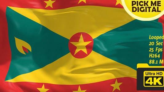 Cover Image for Grenada Flag 4K