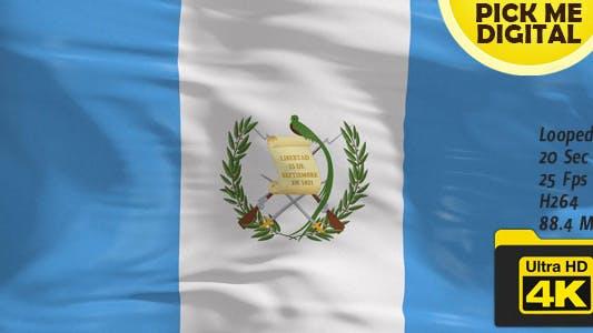 Thumbnail for Guatemala Flag 4K