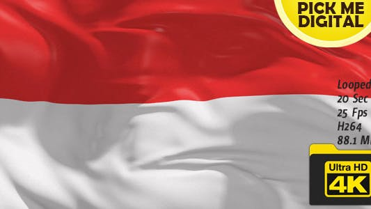Thumbnail for Indonesia Flag 4K