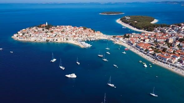 Thumbnail for Adriatic Town Primosten, Croatia