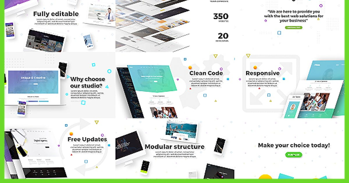 Download Agency / Website / Service Advertisement by Nullifier