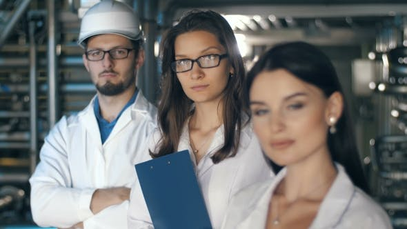 Thumbnail for Team of Inspectors at Factory