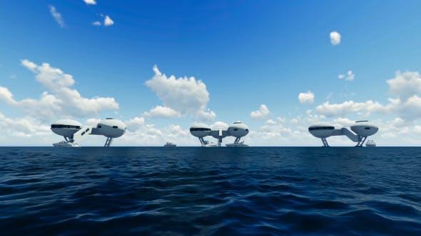 Thumbnail for Futuristic City Ocean
