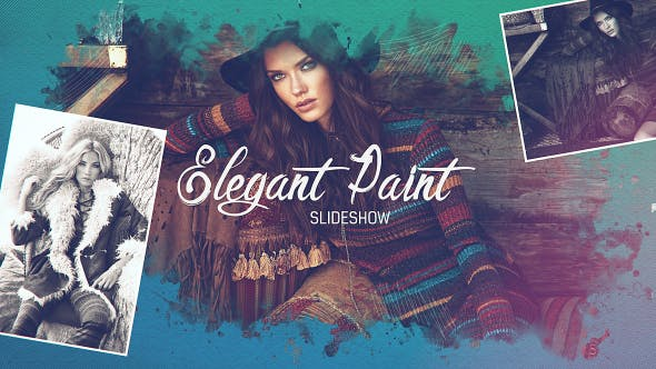 Thumbnail for Elegant Paint Slideshow