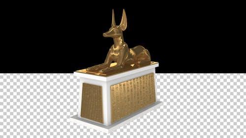 Anubis - Golden Tomb of Tutankhamun