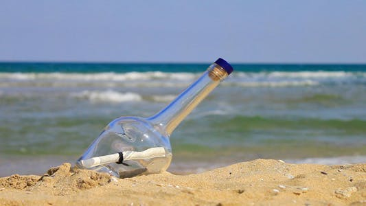 Thumbnail for Letter In A Bottle On The Beach