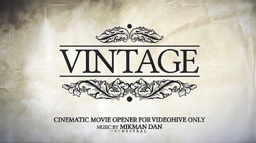 Vintage Opener