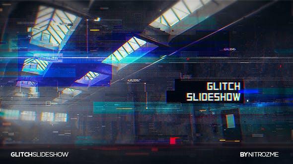 Thumbnail for Presentación de diapositivas Glitch