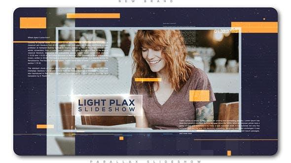 Slideshow Universal Parallax Luz