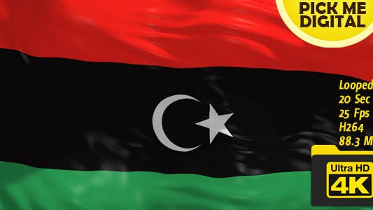 Cover Image for Libya Flag 4K