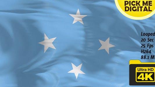 Thumbnail for Micronesia Flag 4K