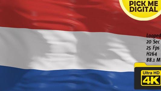 Thumbnail for Netherland Flag 4K