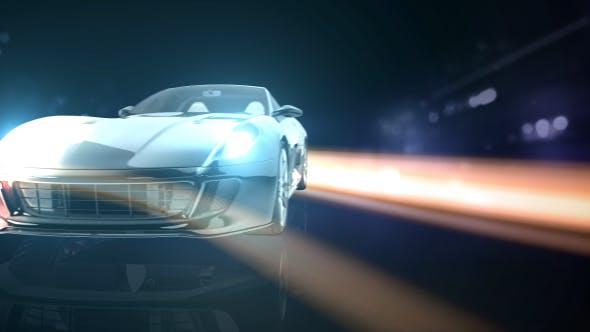 Thumbnail for Car Streak Logo Reveal