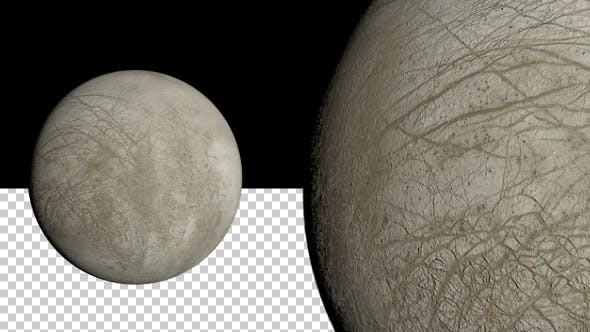 Europa - Jupiter`s Mond