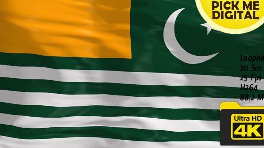 Thumbnail for Pakistan-Azad Kashmir Flag 4K