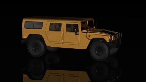 Hummer Jeep Background