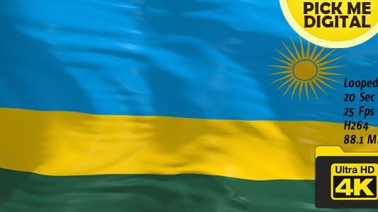 Thumbnail for Rwanda Flag 4K