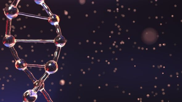 Thumbnail for DNA Molecule and Floating Droplets