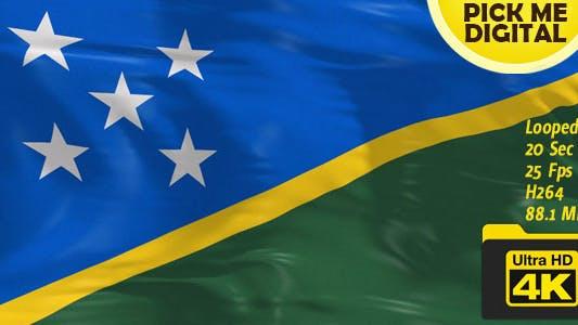Thumbnail for Solomon Islands Flag 4K