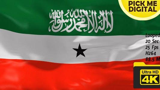 Thumbnail for Somaliland Flag 4K