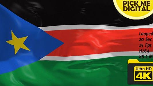 Thumbnail for South Sudan Flag 4K