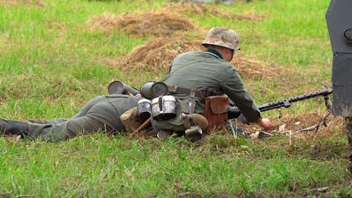 War. Infantry