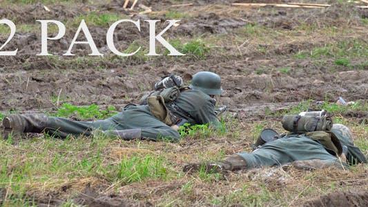 War. Soldiers