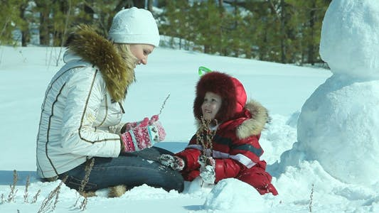 Draußen Im Winter