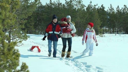 Thumbnail for Snowy Walk