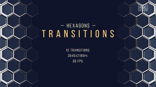 Transitions d'entreprise hexagonales