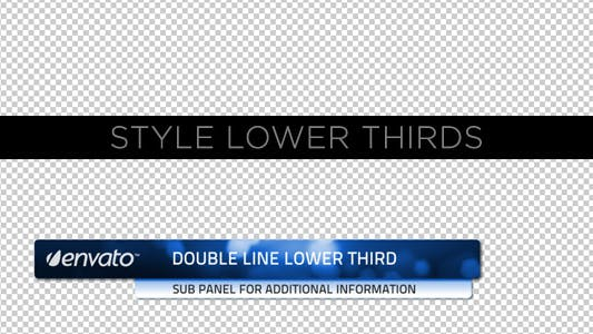 Thumbnail for Style Lower Thirds