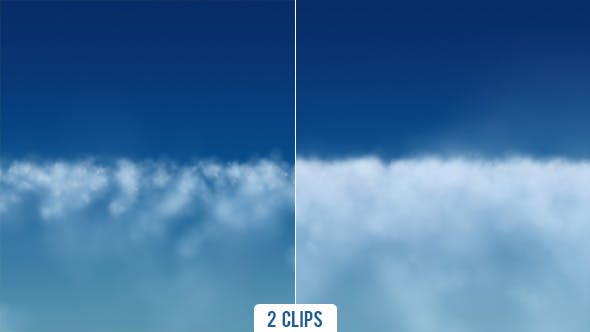 Thumbnail for Flying Above Altocumulus Clouds - 2 Clips