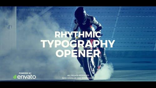 Rhythmus-Typografie