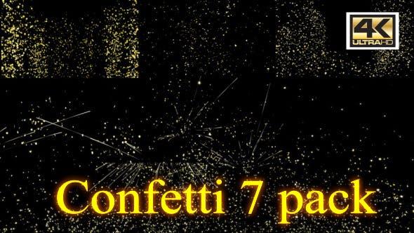 Confetti Glow 4K