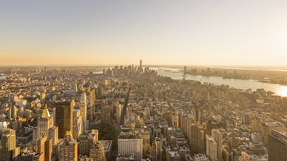 Thumbnail for New York City , USA - The South of Manhattan