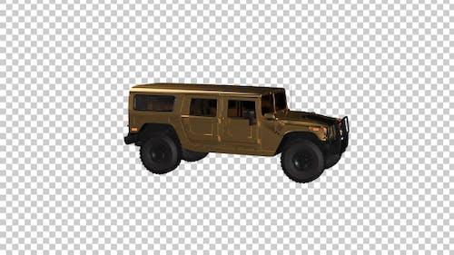 Gold Hummer