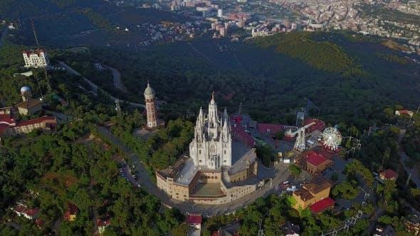 Tibidabo Mountain, Barcelona, Catalonia, Spain.