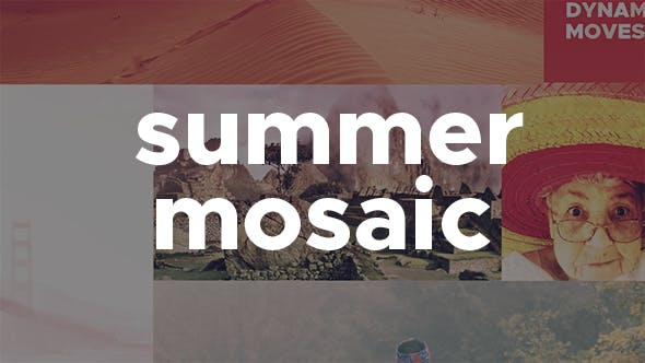 Cover Image for Summer Mosaic Slideshow