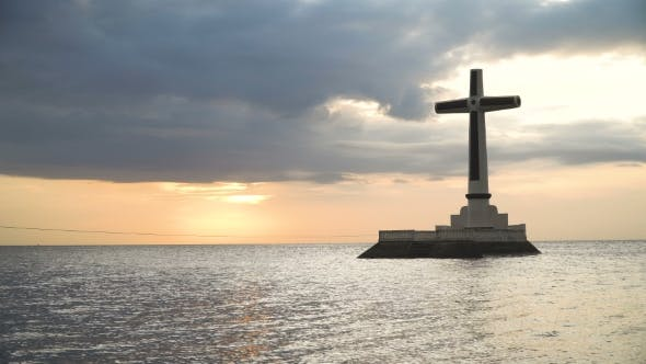 Thumbnail for Catholic Cross in the Sea