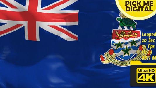 Cover Image for UK-Cayman Islands Flag 4K