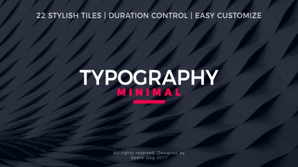 Cover Image for Minimal Typography
