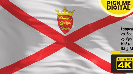 Cover Image for UK-Jersey Flag 4K